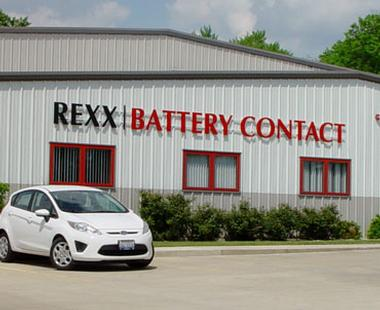 Rexx Battery Contact building